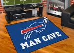 Buffalo Bills All-Star Man Cave Rug