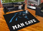 Carolina Panthers All-Star Man Cave Rug