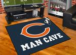 Chicago Bears All-Star Man Cave Rug