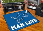 Detroit Lions All-Star Man Cave Rug