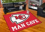 Kansas City Chiefs All-Star Man Cave Rug