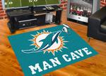 Miami Dolphins All-Star Man Cave Rug