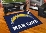 San Diego Chargers All-Star Man Cave Rug