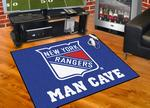 New York Rangers All-Star Man Cave Rug
