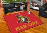 Ottawa Senators All-Star Man Cave Rug