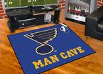St. Louis Blues All-Star Man Cave Rug