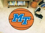 Middle Tennessee State University Blue Raiders Basketball Rug