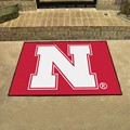 University of Nebraska Cornhuskers All-Star Rug