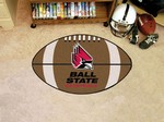 Ball State University Cardinals Football Rug