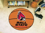 Ball State University Cardinals Basketball Rug