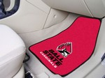 Ball State University Cardinals Carpet Car Mats