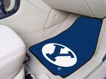 Brigham Young University Cougars Carpet Car Mats