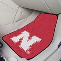 University of Nebraska Cornhuskers Carpet Car Mats - Huskers