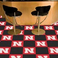 University of Nebraska Cornhuskers Carpet Floor Tiles