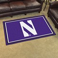 Northwestern University Wildcats 4x6 Rug