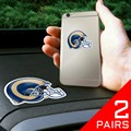 Los Angeles Rams Cell Phone Grips - 2 Pack