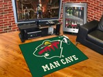 Minnesota Wild All-Star Man Cave Rug