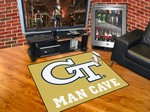 Georgia Tech Yellow Jackets All-Star Man Cave Rug