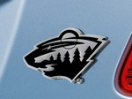 Minnesota Wild 3D Chromed Metal Car Emblem