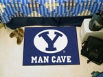 Brigham Young University Cougars Man Cave Starter Rug