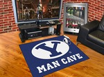 Brigham Young University Cougars All-Star Man Cave Rug