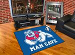 Fresno State Bulldogs All-Star Man Cave Rug