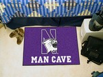 Northwestern University Wildcats Man Cave Starter Rug