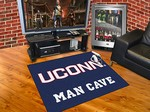 University of Connecticut Huskies All-Star Man Cave Rug