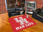 University of Houston Cougars All-Star Man Cave Rug