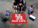 University of Houston Cougars Man Cave Tailgater Rug