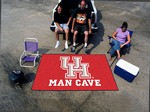 University of Houston Cougars Man Cave Ulti-Mat Rug