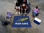 University of Toledo Rockets Man Cave Tailgater Rug