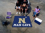 US Naval Academy Midshipmen Man Cave Tailgater Rug
