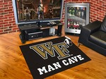 Wake Forest University Demon Deacons All-Star Man Cave Rug
