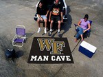 Wake Forest Demon Deacons Man Cave Tailgater Rug