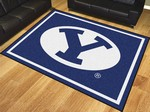 Brigham Young University Cougars 8'x10' Rug