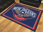 New Orleans Pelicans 8'x10' Rug