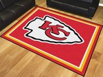 Kansas City Chiefs 8'x10' Rug