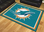 Miami Dolphins 8'x10' Rug