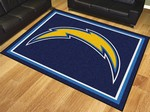 San Diego Chargers 8'x10' Rug