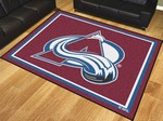 Colorado Avalanche 8'x10' Rug