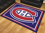 Montreal Canadiens 8'x10' Rug