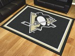 Pittsburgh Penguins 8'x10' Rug