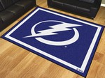 Tampa Bay Lightning 8'x10' Rug