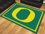 University of Oregon Ducks 8'x10' Rug