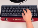 Florida State University Seminoles Keyboard Wrist Rest