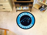 "Carolina Panthers 27"" Roundel Mat"