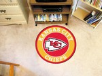 "Kansas City Chiefs 27"" Roundel Mat"