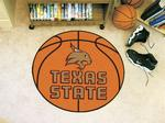 Texas State University Bobcats Basketball Rug