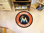 "Miami Marlins 27"" Roundel Mat"